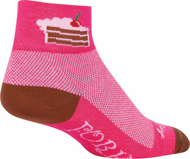 New SockGuy Whiskers Sock Pink SM//MD