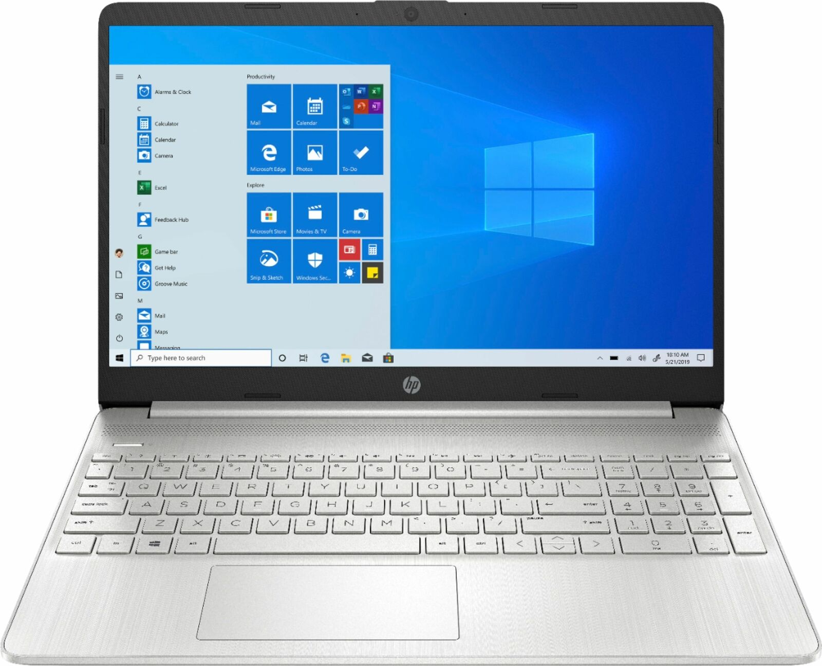 "HP - 15.6"" Touch-Screen Laptop - AMD Ryzen 7 - 8GB Memory - 512GB SSD - Natur..."