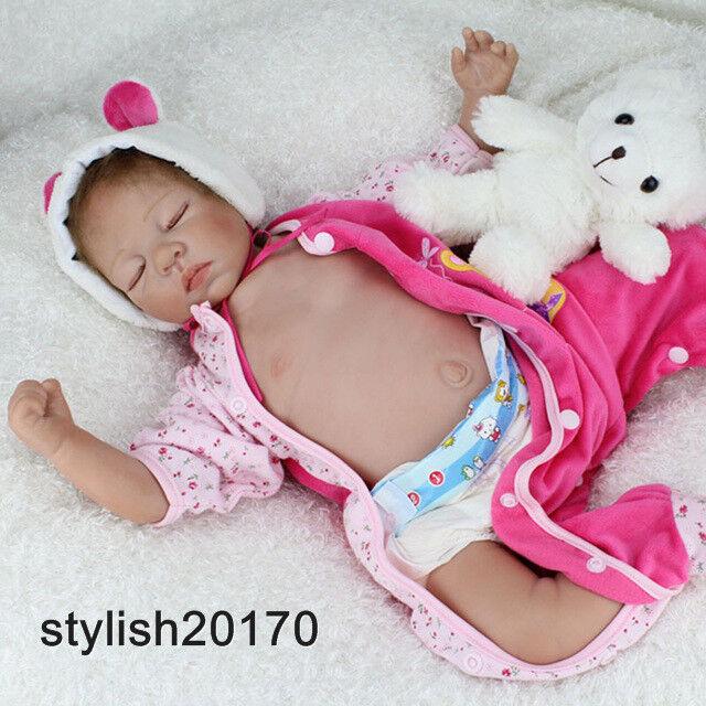Reborn RealLife Baby Dolls neonati Baby Alive bambole sonno fine BAMBOLE BABY