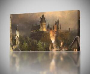 Hogwarts Harry Potter CANVAS PRINT Wall Art Decor Giclee ...
