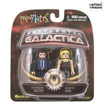 Battlestar Galactica Minimates Series 2 Vice President Baltar & Number Six Gina