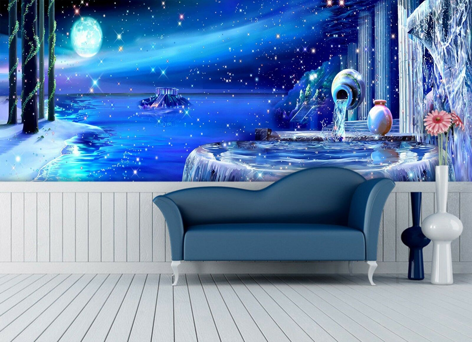 3D Dream Lake 7316 Wallpaper Mural Wall Print Wall Wallpaper Murals US Lemon