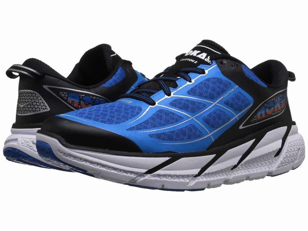 NEW MENS HOKA ONE ONE CLIFTON 2 RUNNING schuhe - 9   EUR 42 2 3 - AUTHENTIC