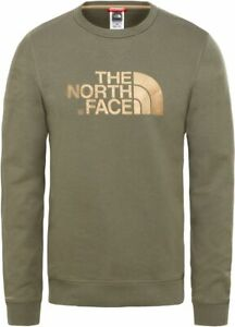 THE-NORTH-FACE-Drew-Peak-Crew-T93RXV21L-Outdoor-Sweatshirt-Pullover-Mens-New