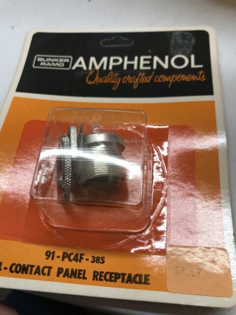 Electro-Voice EV 664 /& Shure 545 4-Pin 91-MC4M to 3-Pin XLR Mic Adapter