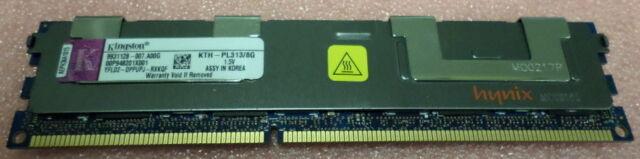 KTH-PL313/8G Kingston 8GB PC3-10600 DDR3-1333MHz ECC Registered Server Memory