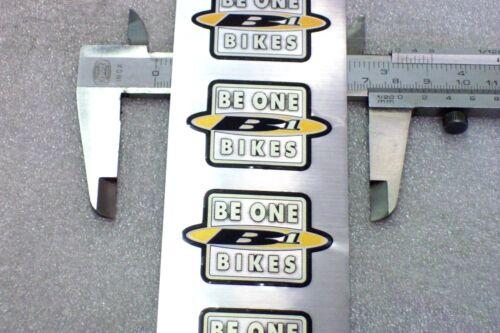 1 Original SACHS Aufkleber BE ONE BIKES Aluminium Effekt ca.45x31 B1