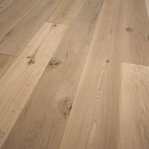 "French Oak Wood Flooring 7 1//2/"" x 1//2/"" Unfinished Engineered Square Edge Sample"