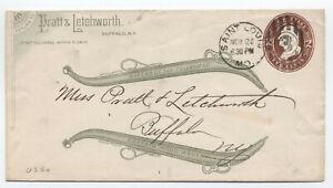 1884-Pratt-amp-Letchworth-ad-cover-Buffalo-NY-wood-harness-y4362
