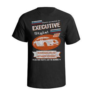 Mens Jaguar S Type Executive Organic Cotton T-Shirt Retro Style Cars Eco Gift