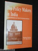 Top Policy Makers in India: Cabinet Ministers & Civil Service Advisers, 1994-1st