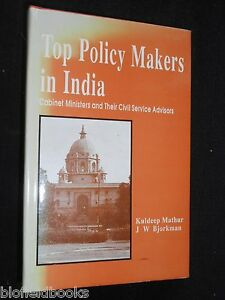 Top-Policy-Makers-in-India-Cabinet-Ministers-amp-Civil-Service-Advisers-1994-1st