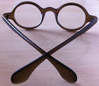 42.70mm Vintage Round Man Women Eyeglass Frame Glass Spectacles Clear Lens RX