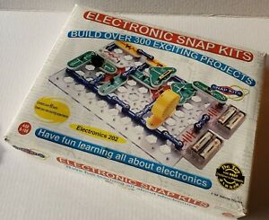 Radio-Shack-28-287-RS-202-Electronic-Snap-Circuit-Kit-COMPLETE-amp-WORKING