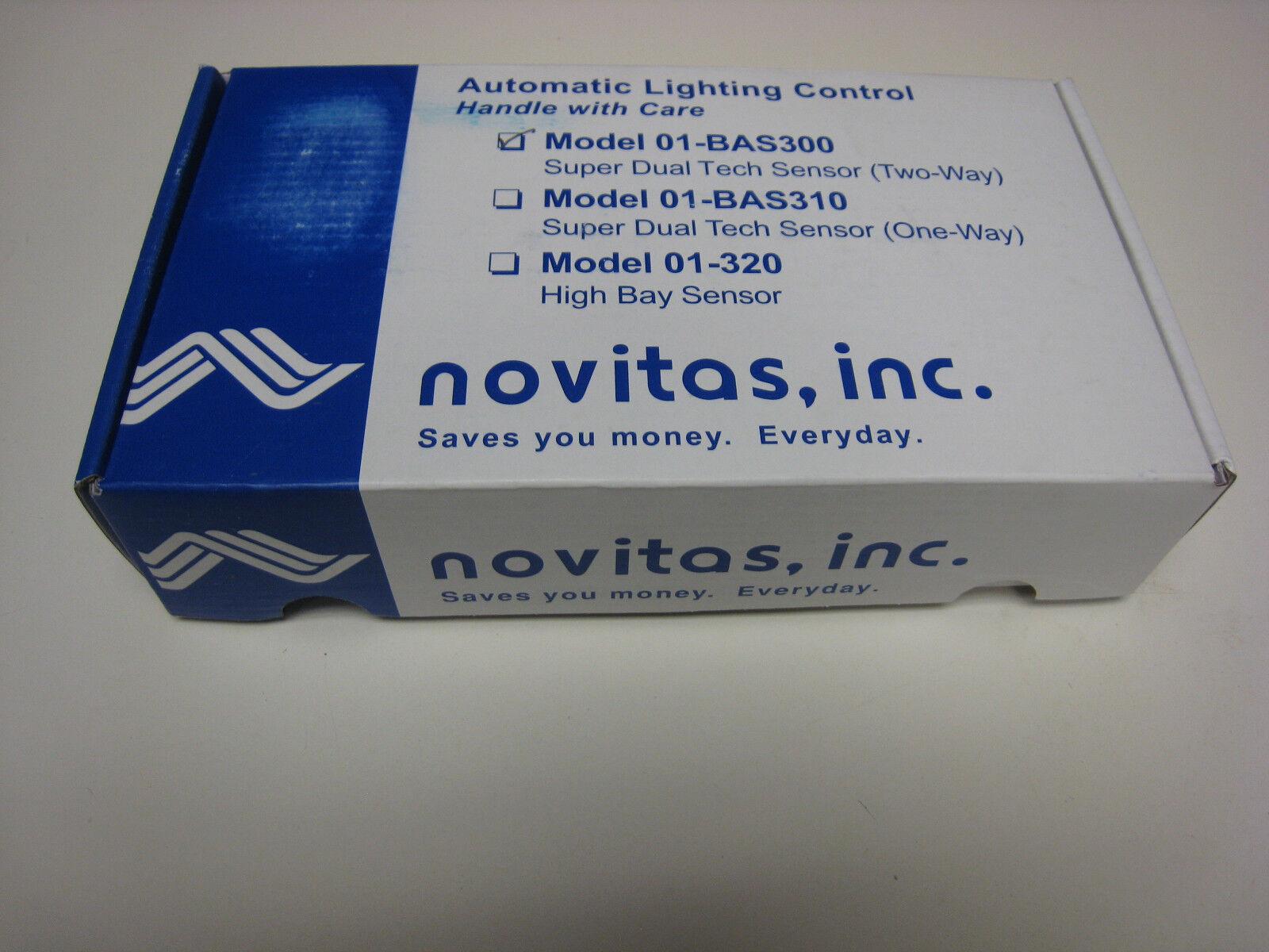 Novitas 01-bas300 Super Dual Tech Two-way Sensor Automatic Lighting ...