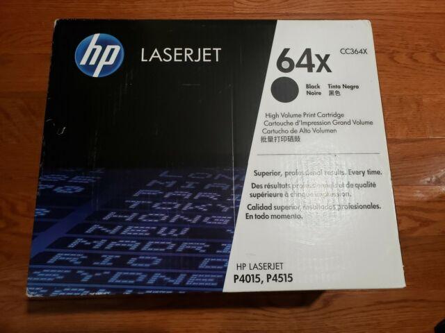 Brand New Sealed Genuine HP 64X High Volume Black Print Cartridge.  CC364X