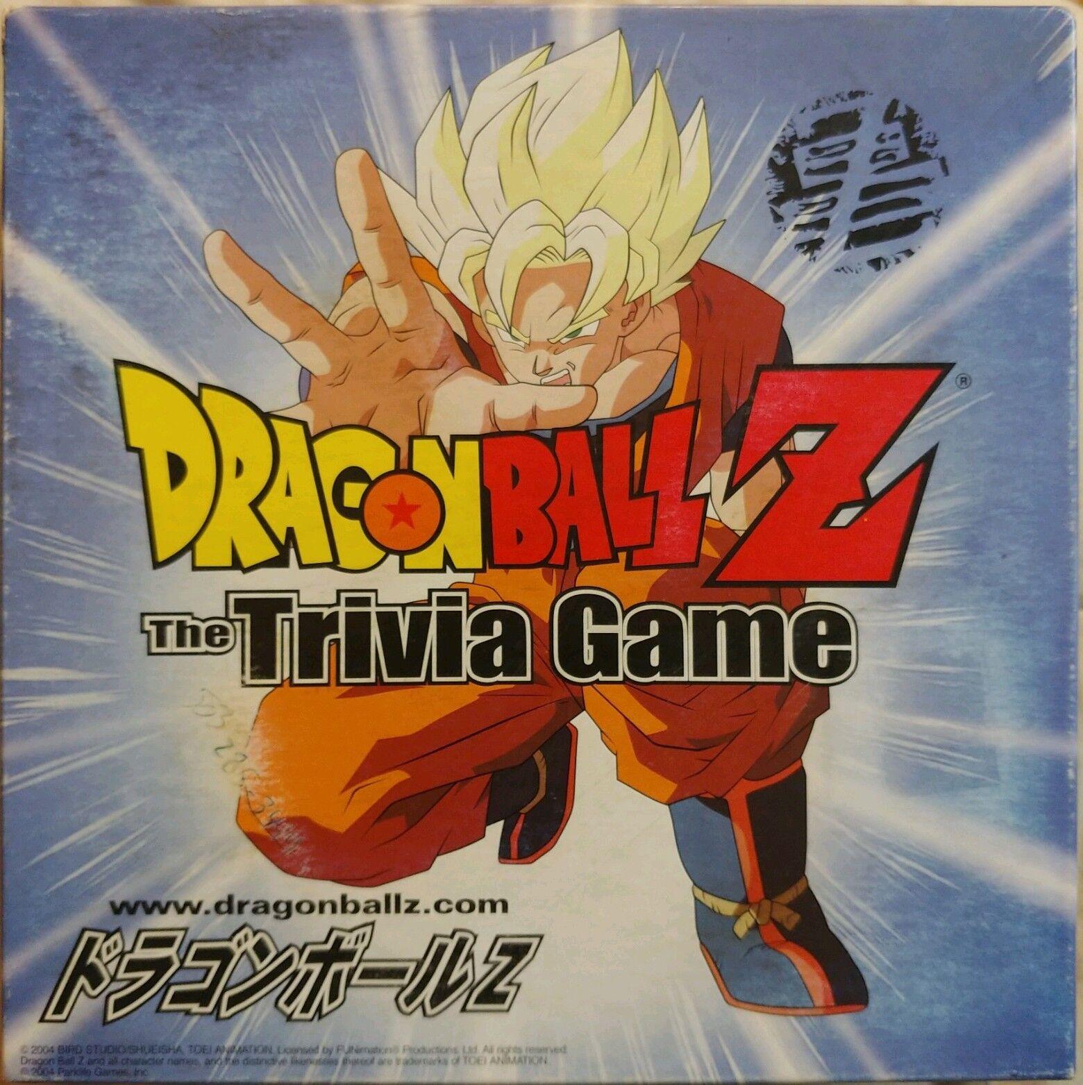 Dragon Ball Z El juego de Trivia