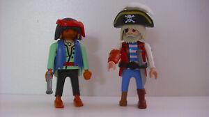 Playmobil-3127-Piraten-Figuren-Seeraeuber-mit-Holzbein-Rirat-mit-Ohrring
