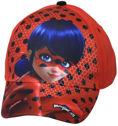 Miraculous Ladybug  Cap  Gr 54  Rot    NEU   MOTIV  1