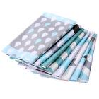 100% Cotton Craft 8 Assorted Pre Cut Charm Quilt Fabric Patchwork DIY 40 x 50cm