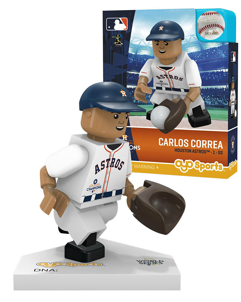 Jose Altuve Houston Astros OYO MLB Baseball G5 Gen 5 Minifigure Figure