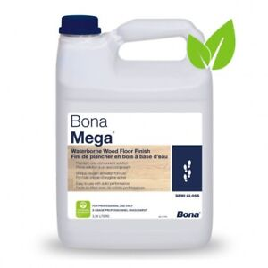 Image Is Loading Bona Mega Wood Floor Finish Semi Gloss 1