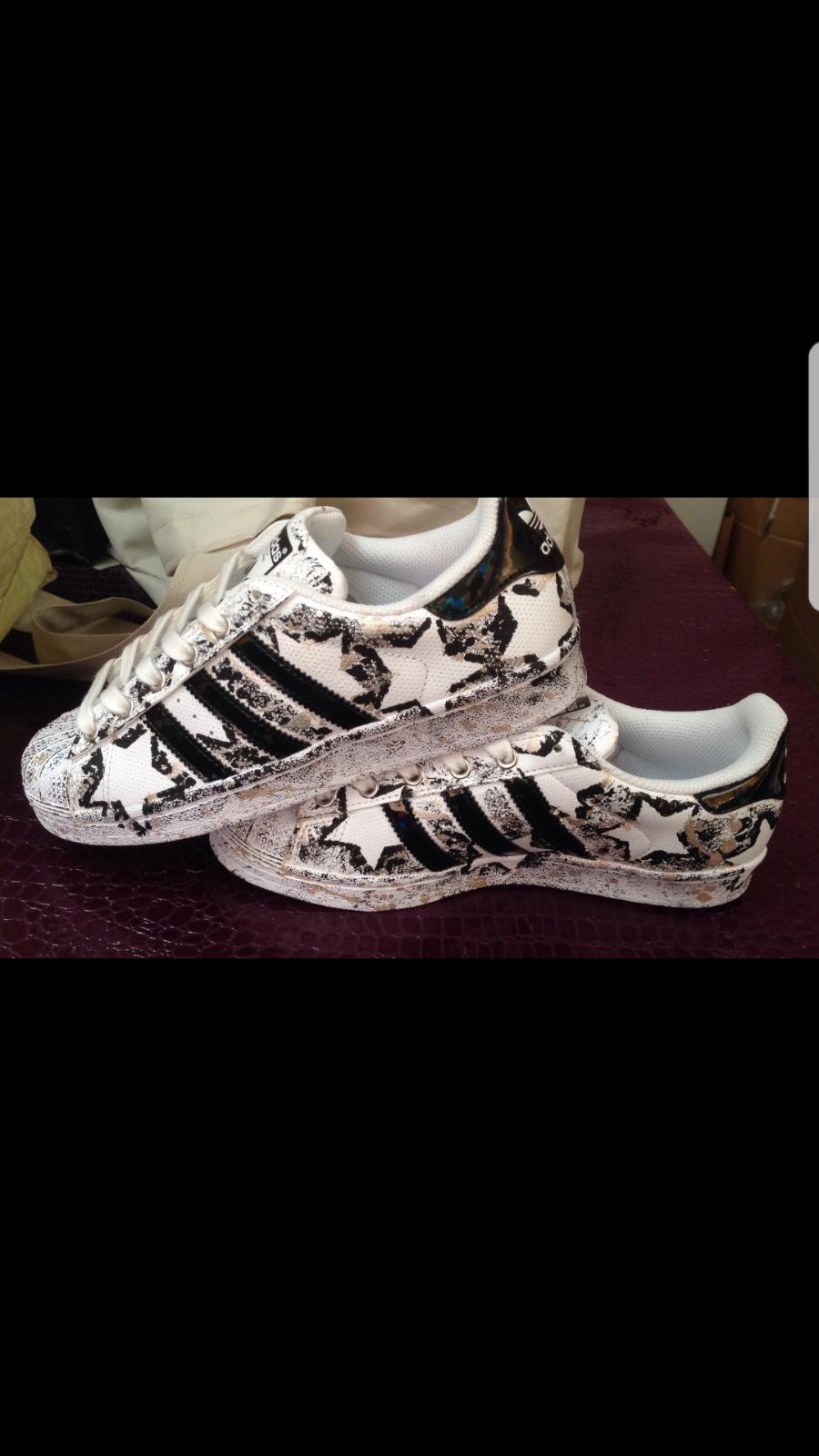 scarpe scarpe scarpe adidas super star personalizzata 4b775d
