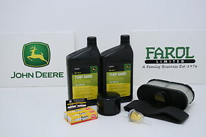 Genuine-John-Deere-Service-Filter-Kit-LG265-Lawnmower-X300R-X300-X320-X350R-X304