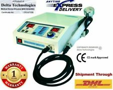 Portable Chiropractic Ultrasound Therapy 1 Mhz Deep Heat Tissue Process Machine