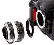 ANELLO INVERSIONE REVERSAL RING OBIETTIVO DA CANON EOS A 58 mm MACROFOTOGRAFIA