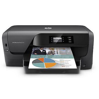 HP OfficeJet Pro 8210 Tintenstrahldrucker ( A4, USB, Duplex, LAN, WLAN )