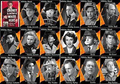 White Heat Jimmy Cagney movie trading cards Virginia Mayo Edmond O/'Brien