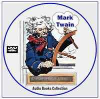 Mark Twain 165 Audio Books - Classic Literature Collection On 2 Mp3 Dvd Cd's