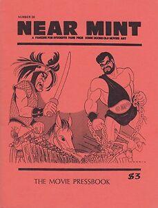 """NEAR MINT"" #28 MAY 1983 MOVIE PRESSBOOK ISSUE JACK DAVIS BOGART AL HIRSCHFELD"