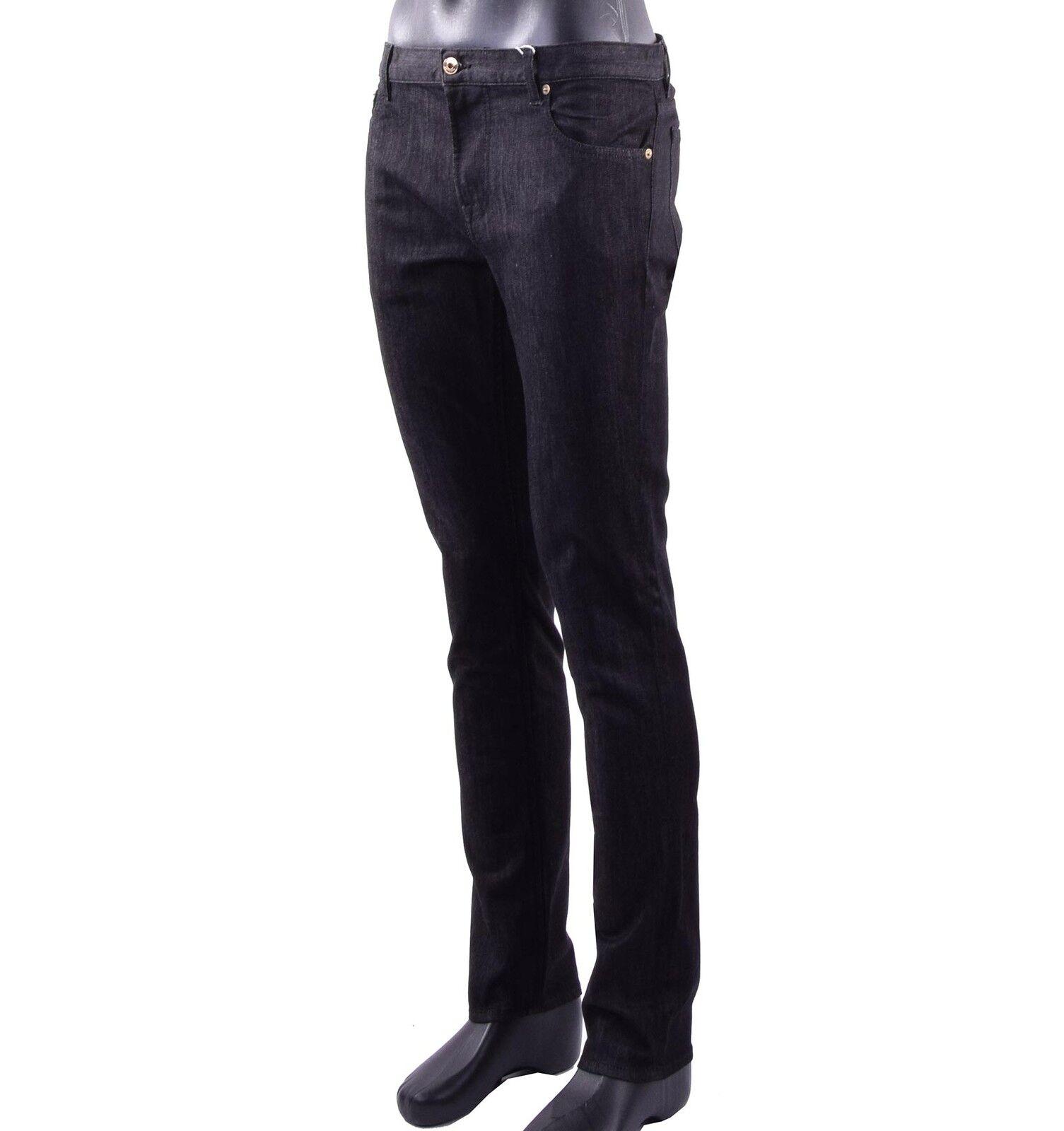 MOSCHINO Couture Classique Jeans Skinny pantalon avec métal métal avec logo noir 05422 57bb28