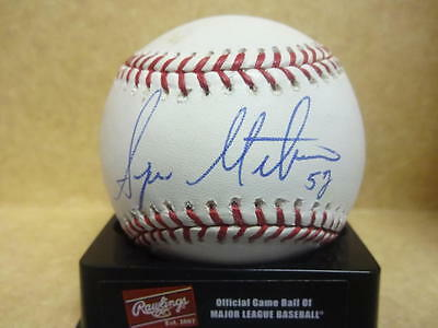 Baseball-mlb Buy Cheap Sergio Mitre Marlins/yankes/cubs Signed M.l Baseball W/coa