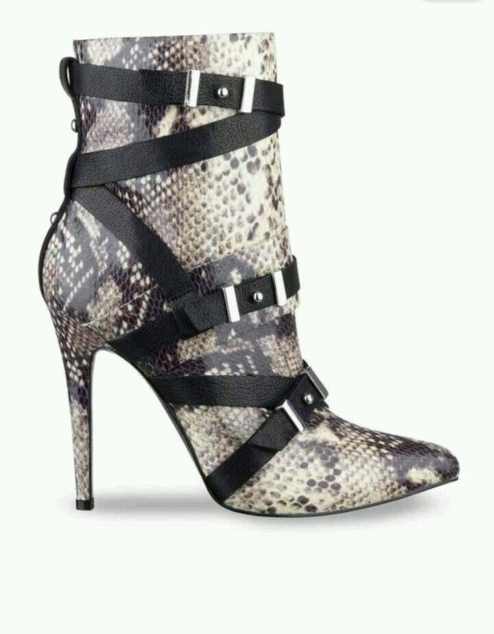 NEW  GUESS Parley2 Parley2 Parley2 Natural Multi Printed Pointed-Toe Stiefel 5, 5.5, 7.5 7502ea
