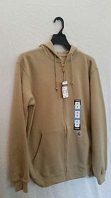 Carhartt men/'s hooded zip front  midweight sweatshirt K122dkt