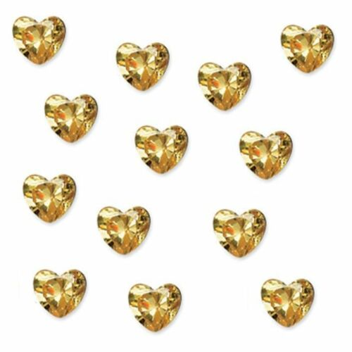 12PCS Love Heart Birthstone Floating Charms For Living Memory Glass Lockets New