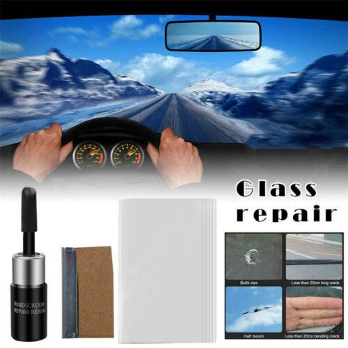 Car Windshield Repair Tool Windscreen Glass Scratch Crack Restore DIY Window WL
