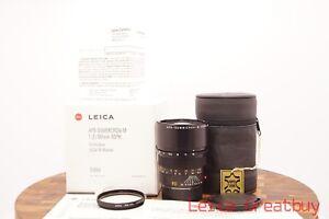 Leica-APO-SUMMICRON-M-90mm-F-2-Mf-Asphaerisch-Linse-in-Vollstaendige-Packung