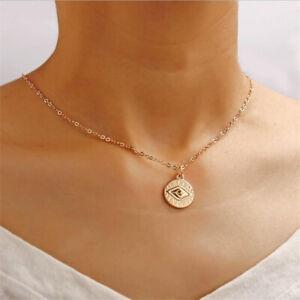 Gold Charm Pendant Turkish Evil Eye Necklace Alloy Bohemia ...