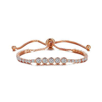 Armband Damen Edel Luxus Geschenk Diamanten Schmuck Armkette Edelstahl