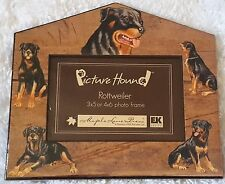 New Rottweiler Picture Hound Maple Lane Press 3x5 4x6 Dog Pet Photo Frame