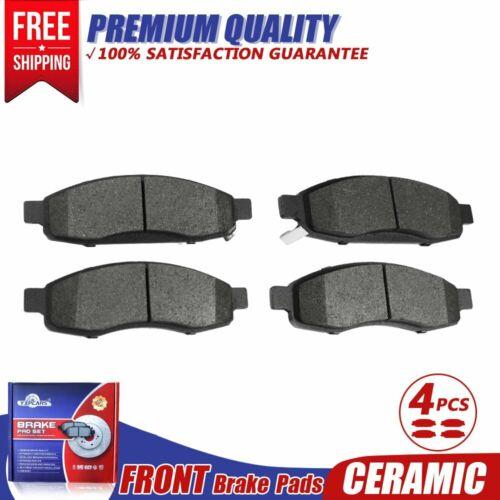 Front Ceramic Brake Pads Set For 2005 2006 Infiniti Qx56 Nissan Armada Titan