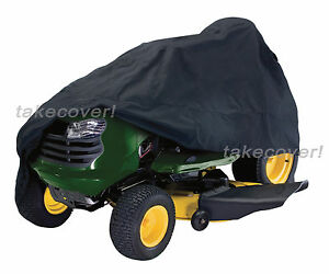 Lawn-Tractor-Mower-Cover-Weather-UV-Protection-H-1-fits-up-to-54-034-cutting-width