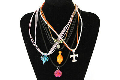WHOLESALE LOT OF 6 ASSORTED TURTLE WILDLIFE PENDANT CORD NECKLACES NW INDIANA!