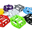 SHANMASHI MTB Road Bike Pedal Lightweight Magnesium Alloy Bicycle Pedals 9//16 in