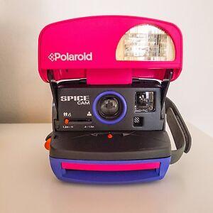 Polaroid-Rose-Rare-Ltd-RUN90S-SPICE-GIRLS-Cam-pret-a-tirer-Paquet-Film