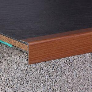 Das Bild Wird Geladen Treppenprofil Treppensanierung Mit Laminat Oder Vinyl  120cm Kirsche